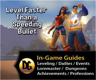 wow leveling guide, get to the level cap, fast
