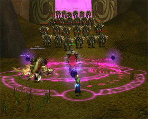 wow horde instance leveling
