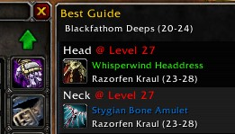 New Gear Finder Feature (WoW Classic)