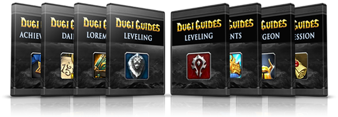 alliance leveling guide and horde leveling guide dvd cover mist of pandaria, mop
