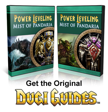 WoW Leveling Guides, Alliance Horde, mist of pandaria